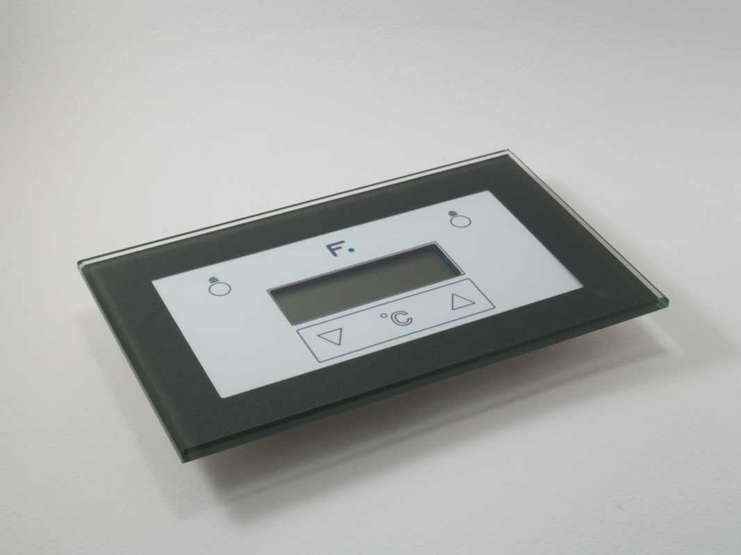 Crystal Wall mound Touch Pad with Display