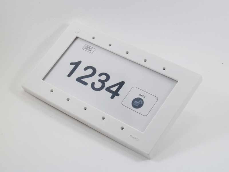 External Hotel RFID card reader
